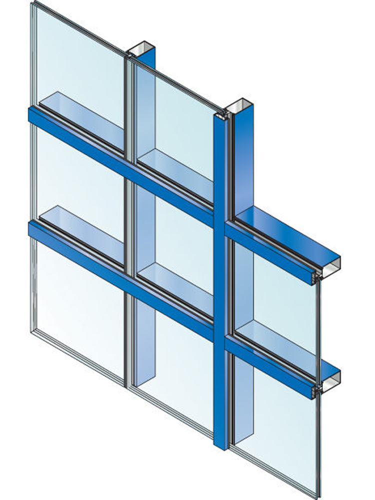 Castle Windows Dundalk suppliers of Curtain Walls